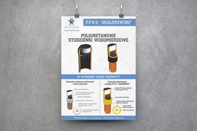 Skolimowski Plakat prezentujący ofertę firmy PPHU Skolimowski