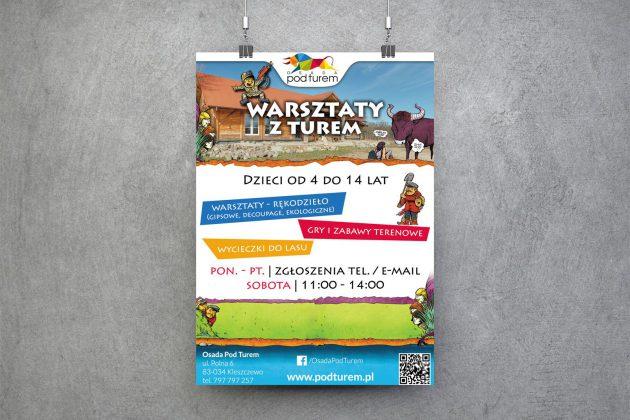 Osada pod Turem Plakat wydarzenia w Osadzie pod Turem