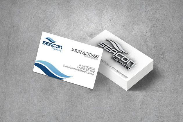 Seacon Wizytówki firmowe
