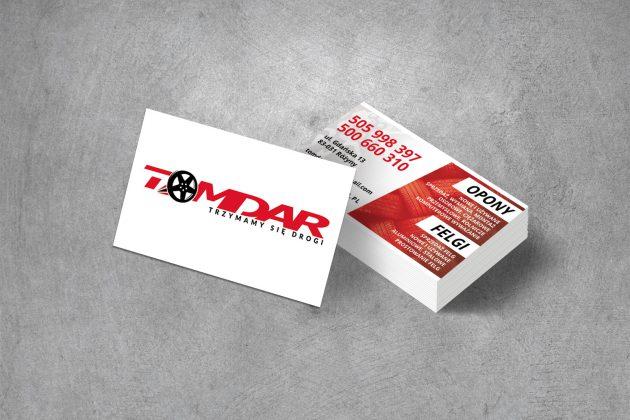 Tomdar Wizytówki firmowe