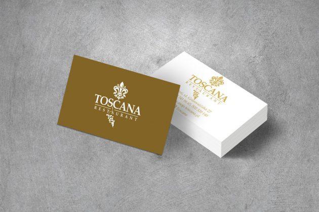 Toscana Wizytówki firmowe