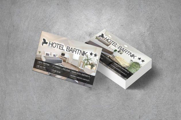 Hotel Bartnik Wizytówki firmowe