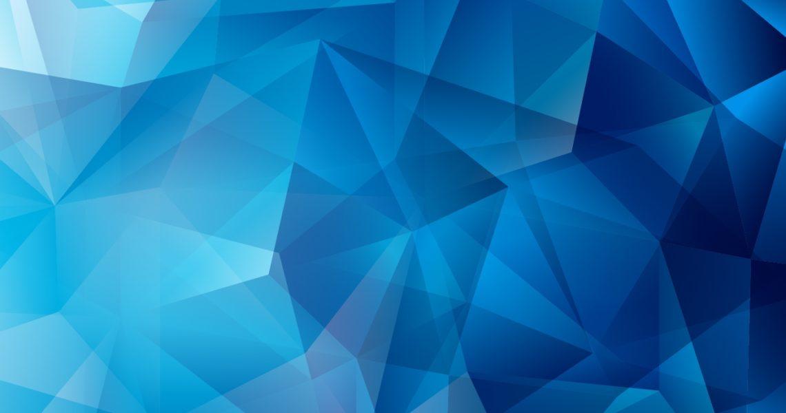 niebieski kolor w reklamie