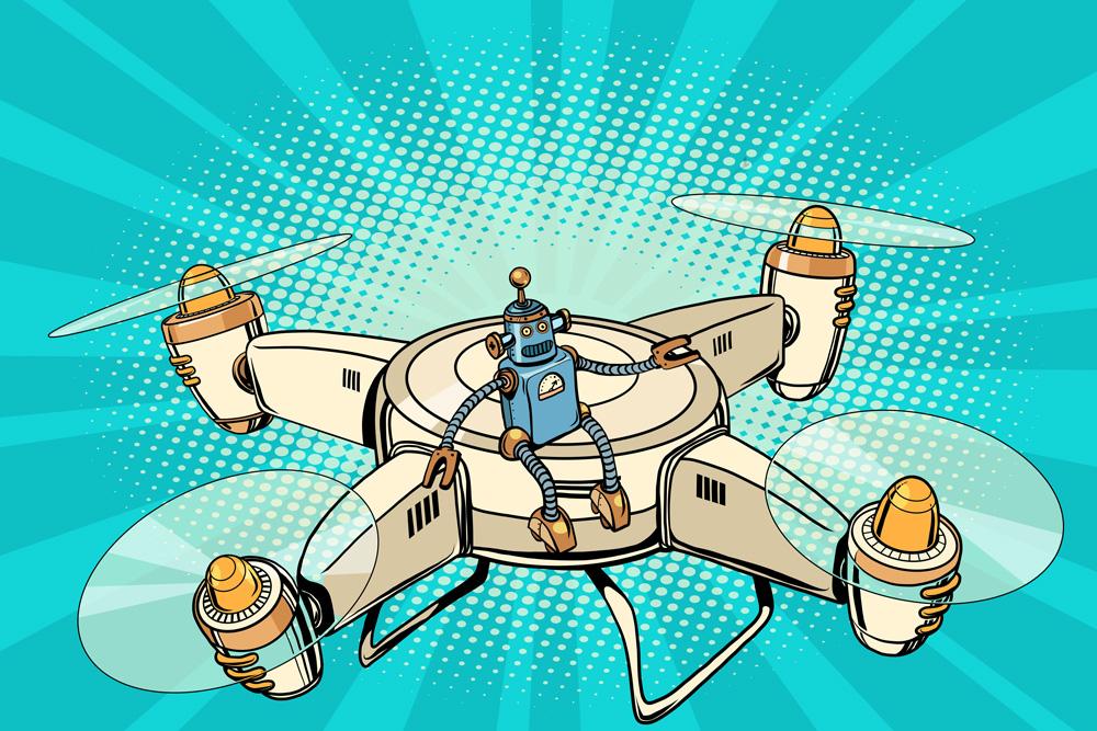 Zastosowanie dronów w reklamie