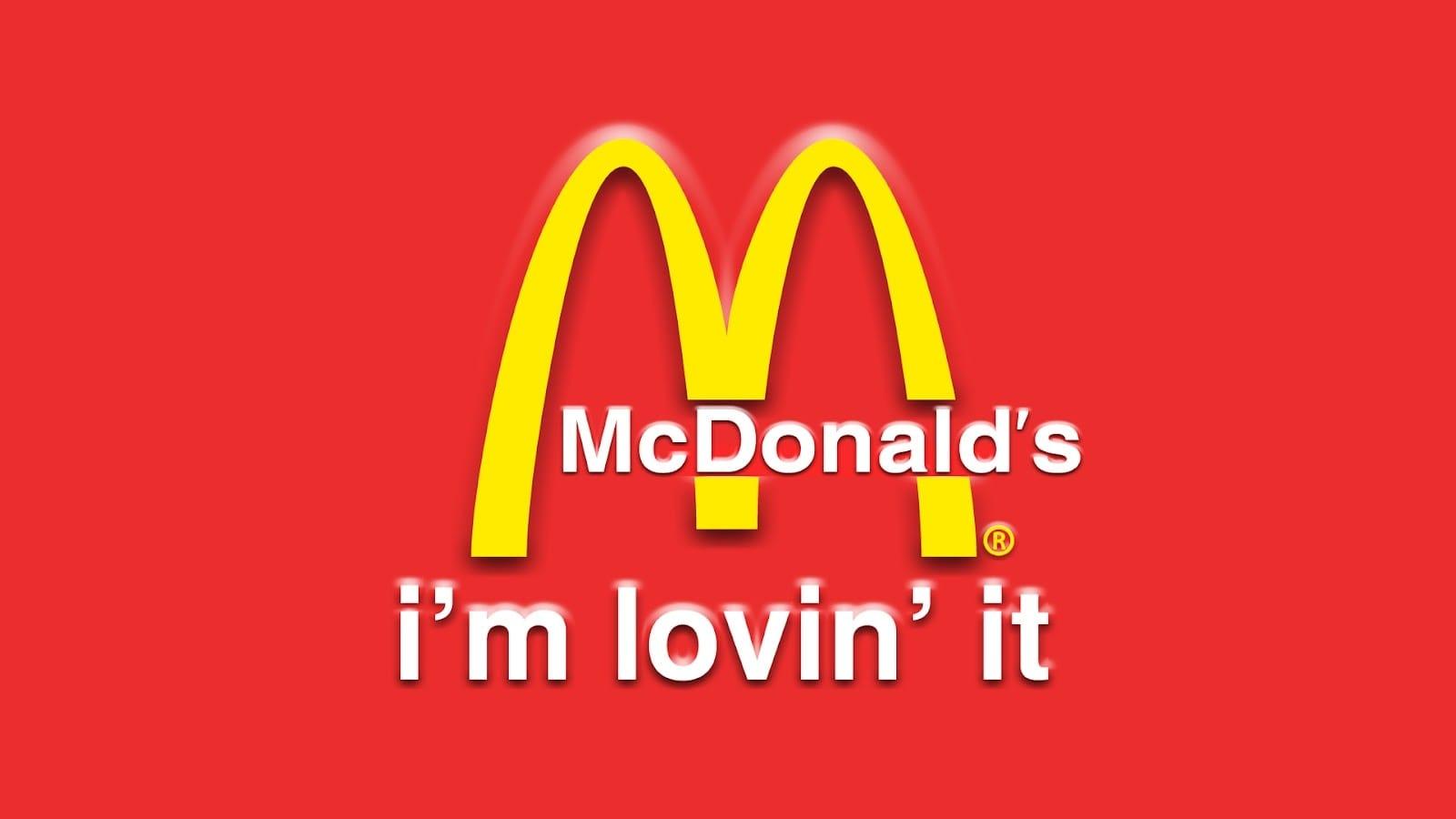 slogan reklamowy i'm lovin it