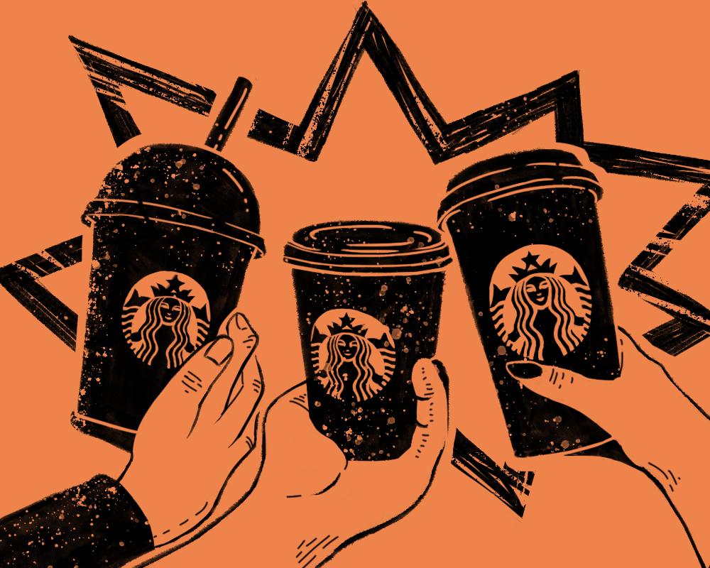 Logo Starbucks. Wesoła syrenka czy symbol szatana?